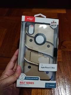 Zizo bolt gold black case iphone xs max