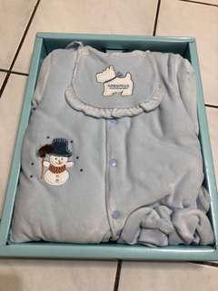 🚚 厚款新生兒保暖衣