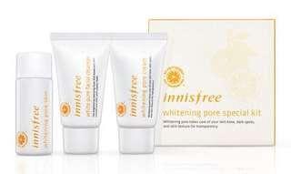 Innisfree Whitening Pore Kit