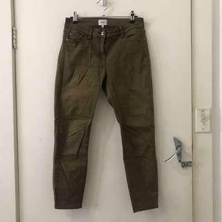 Seed Khaki 7/8 Jeans