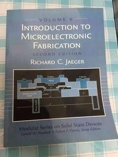 Introduction to microelectronic fabrication second edition volume V