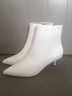 Country Road White Ankle boots