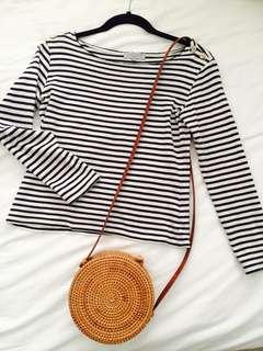 Stripe top cotton