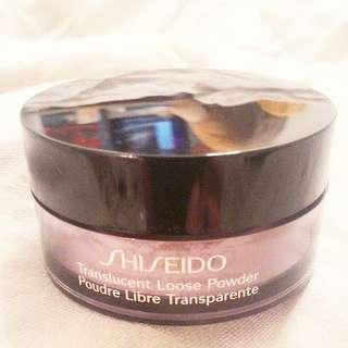 [RESTOCKED]SHISEIDO TRANSLUCENT SETTING POWDER C/W PUFF  RM55 LIMITED TIME  100% AUTHENTIC & SEALED & BRAND NEW IN BOX  ULTRA DELUXE SIZE