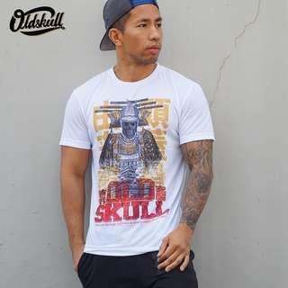 T-shirt Samurai Oldskull Motoroil Original Merchandise