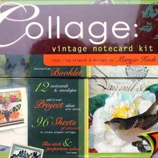 Collage: Vintage Note Card Kit