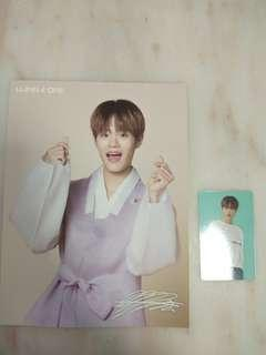 🚚 Wanna One season's greeting daehwi set