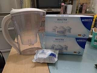 🚚 濾水壺+7個濾心