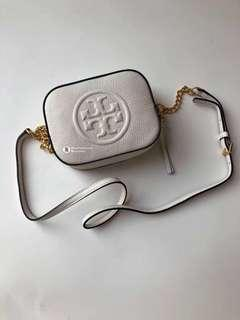 Tory Burch Limited Edition Crossbody- white