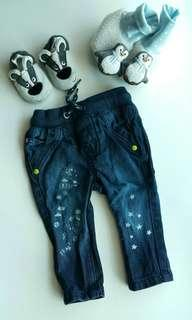 Original Mothercare jeans and shoes