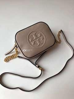 Tory Burch Limited Edition Crossbody- beige
