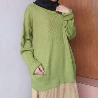 Sweater Oversize #bersihbersih