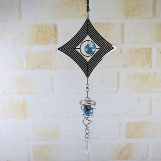 🚚 Wind Chimes Spiral Rotating Crystal Ball (Pre-Order ONLY)