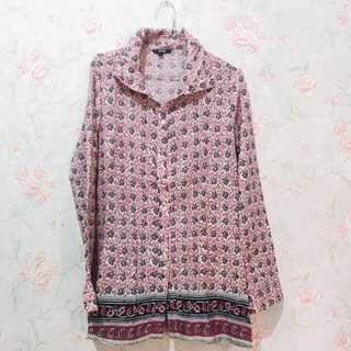 Ethnic Shirt [Free Ongkir Jabodetabek]