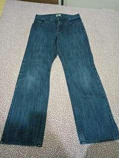 🚚 大童 Gap深藍色牛仔褲(14)