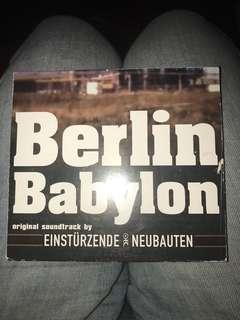 Einsturzende Neubauten OST Soundtrack Berlin Babylon