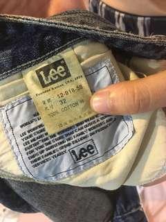 🚚 二手LEE牛仔褲32腰
