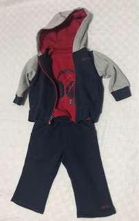 DKNY 3pc Outfit 12M