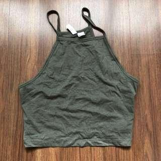 h&m halter top