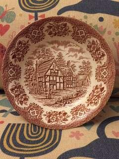 English Ironstone bread and butter plate