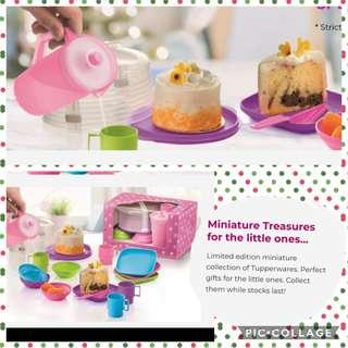 Tupperware masak masak miniature set