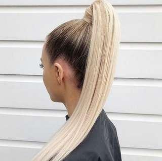"""Zala 26"""" honey blonde ponytail extension"""