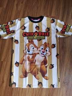Cartoon chip And dale top