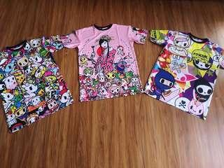 Cartoon plus size shirt