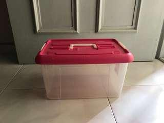 Large Plastic Storage with handle