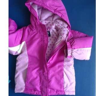 Girl winter/ski jacket, size 5