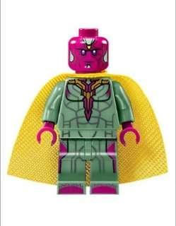 76103 Lego Minifigure Vision人仔