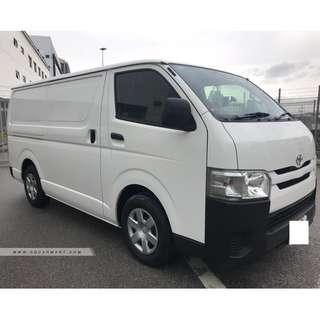 Toyota Hiace 3.0 Standard Roof Manual Available For Rental