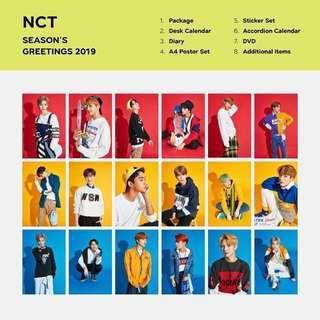 [ORDERED//SHARE] NCT 2019 SEASON GREETING