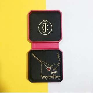 Athentic Juicy Couture three layer necklace