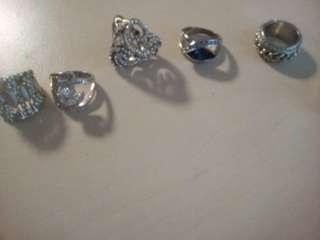 Mixed costume rings