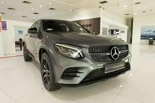 Mercedes-Benz GLC 250 AMG LINE COUPE AUTO