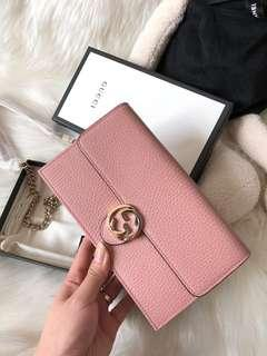 💯Authentic Gucci Wallet On Chain