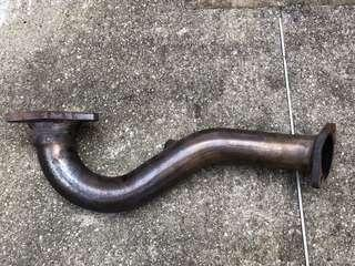 VW Scirocco Twin Charge Down Pipe