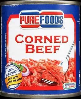 PUREFOODS CORNED BEEF 210g