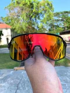 100% S2 Cycling glasses (With free photochromic len)