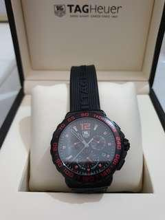 Tag Heuer Formula 1 Tachymetre Red and black Edition