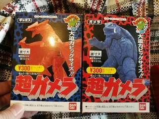 加美拉 食玩 盒蛋 Figure 超加美拉 共兩盒 (2000年左右出品 未開盒)