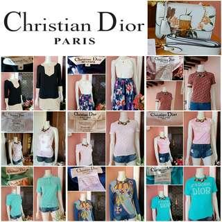 "⚠LIMITED TIME OFFER⚠ TAKE ALL Authentic Christian Dior Monogram Print Tops/Dress/Skirt + Christian Dior ""DIORADDICT"" FLAP BAG Jardin Japonais Limited Edition"