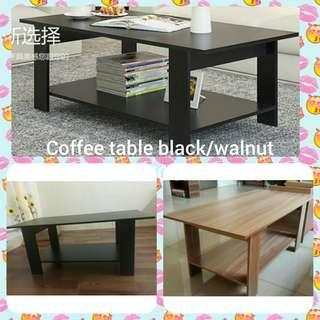 Coffee Table black/walnut INSTOCK!