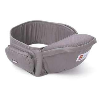 BABY WAIST STOOL CARRIER - GREY