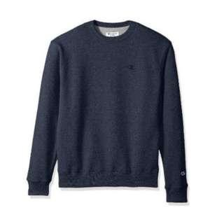 Authentic Champion Navy Sweater Instock
