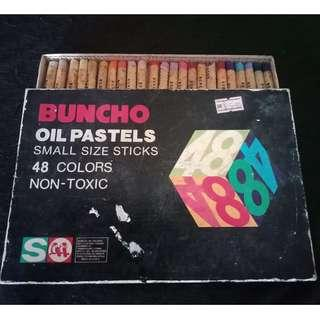 Buncho oil pastels 48 (free gift given)