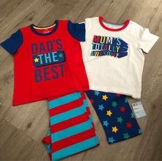 🚚 Brand new Mothercare Sleep Tight (Set of 2)