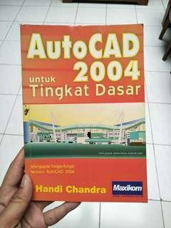 #bersihbersih AutoCAD 2004 Tingkat Dasar