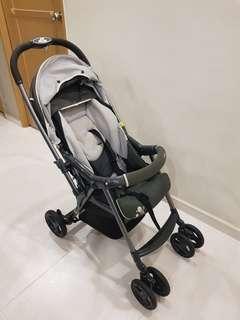 COMBI Urban Walker (Pram cum Stroller) + Free additional padding for newborn